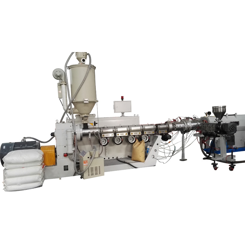 PPR pipe processing line