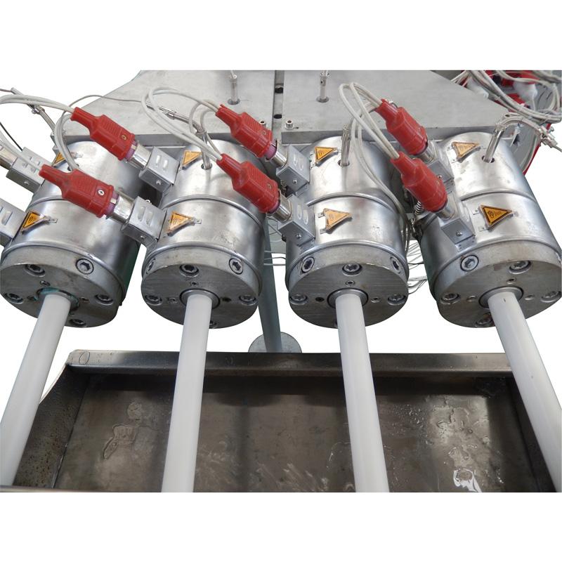 PVC four pipes making machine