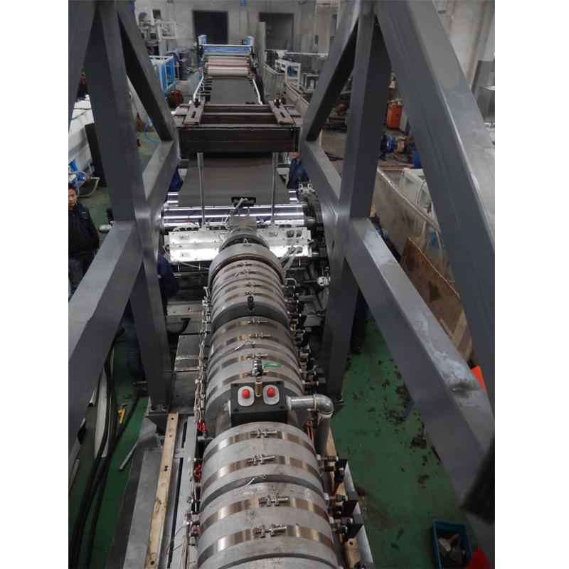 PE PP Composite sheet extrusion production line