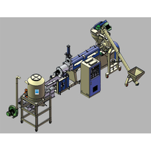 PE/PP/PS/ABS Pelletizing Granulation Line