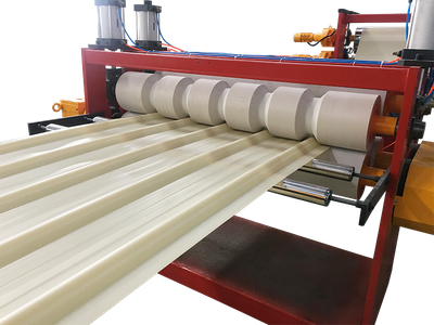 PVC Corrugated Sheet Extrusion Line(Not Foaming)