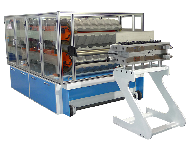 Co-extrusion Line for ASA+PVC Roof Tiles