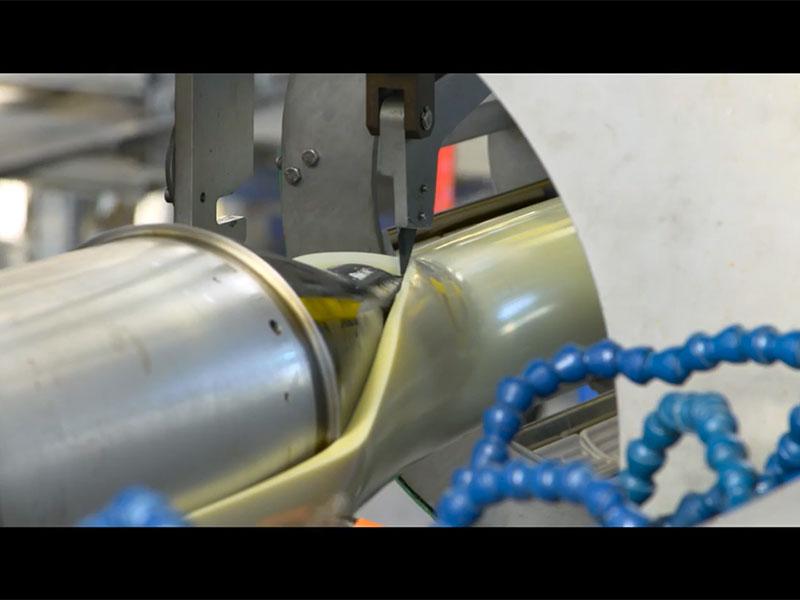 PVC-O Pipe Extrusion Line