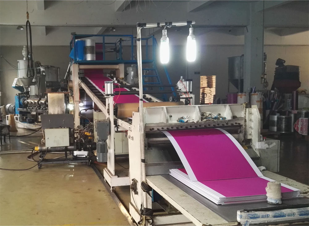 ABS Luggage Sheet production line