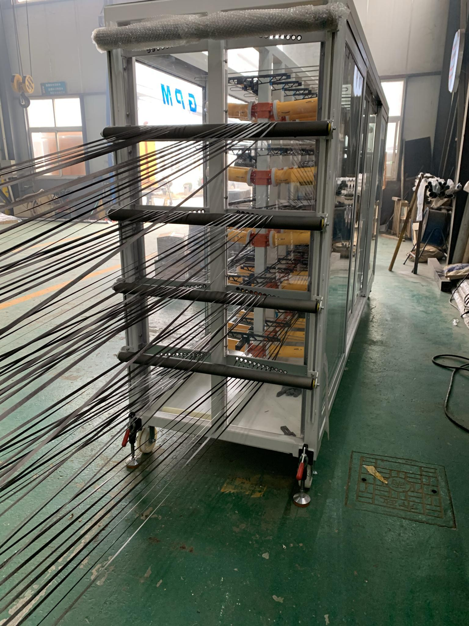 PEEK Continuous Carbon Fiber Thermoplastic Unidirectional Tape Production Line